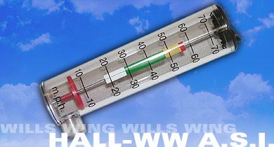 Wills Wing/Hall Airspeed Indicator