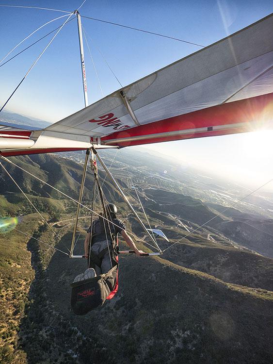 Dave Aldrich Soaring Over Crestline California