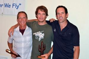 Santa Cruz Flats 2011 Winners Mitch Shipley (3rd), Dustin Martin (2nd), and Jeff O'Brien (1st).