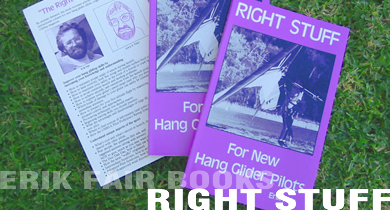 Right Stuff For Hang Glider Pilots