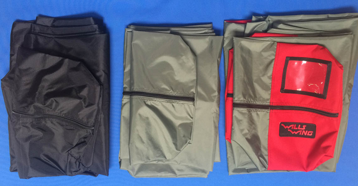 Glider bag types